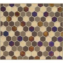 Daltile Coastal Keystones Treasure Island Hexagon Mosaic Brown CK901HEXSWTCHCD
