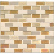 Daltile Coastal Keystones Island Harvest 2 x 1 BrickJoint Mosaic CK9121BJSWTCHCD