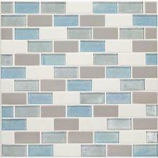 Daltile Coastal Keystones Mediterranean Mist 2 x 1 BrickJoint Mosaic CK9221BJSWTCHCD