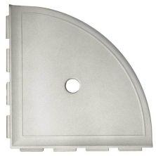 Daltile Bath Accessories Gray Large Corner Gray/Black CN13BA6801P