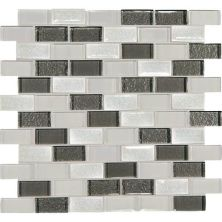 Daltile Crystal Shores Diamond Delta Gray/Black CS9321BJMS1P