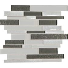 Daltile Crystal Shores Diamond Delta Gray/Black CS93RANDMS1P