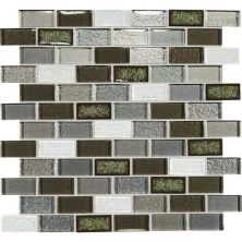 Daltile Crystal Shores Emerald Isle Gray/Black CS9621BJMS1P