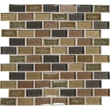 Daltile Crystal Shores Aurelian Seas Brown CS9821BJMS1P