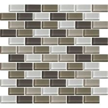 Daltile Color Wave Soft Cashmere BrickJoint Mosaic CW2221BJMS1P