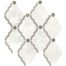 Daltile Stone Decorative Accents Stormy Mist Blend Framed Baroque Mosaic (Polished) DA26FRMBARQMS1L