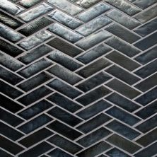 Daltile Illuminary Pewter Gray/Black IL0613HERSWCHCD
