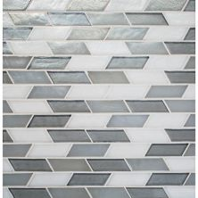 Daltile Illuminary Whisper Blend Gray/Black IL9913OSCSWCHCD