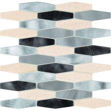 Daltile Infinite Mirage Timeless Illusion Beige/Taupe IM0414HEXMS1P