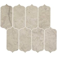 Daltile Limestone Collection Volcanic Gray Ingot Mosaic (honed) Gray/Black L725INGOTMS1U