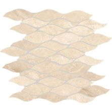 Daltile Marble Collection Meili Sand Random Wave Mosaic (Polished) M106WAVEMS1L