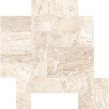 Daltile Marble Collection Meili Sand Versailles Pattern (leather) Beige/Taupe M106PATTERN1N