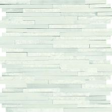 Daltile Marble Collection First Snow Elegance 3/8 X Random Mosaic White M19038RANDMS1P
