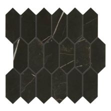 Daltile Marble Attache Nero Gray/Black MA8325HEXMSMT1P