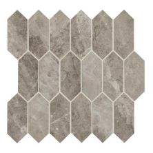 Daltile Marble Attache Crux Gray/Black MA8425HEXMSMT1P
