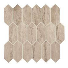 Daltile Marble Attache Travertine Beige/Taupe MA8525HEXMSMT1P