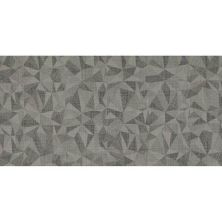 Daltile Fabric Art Modern Kaleidoscope Ashen Steel Prism Gray/Black MK7212241PK