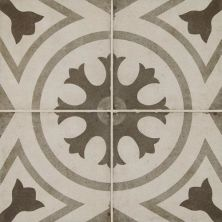 Daltile Quartetto Cool Circolo Gray/Black QU2188CIRCSM1P