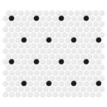Daltile Retro Rounds Polka Dot Matte RR0411PNYRDMS1P