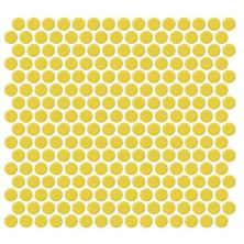Daltile Retro Rounds Daffodil Yellow Gold/Yellow RR0711PNYRDMS1P
