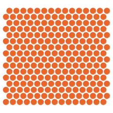 Daltile Retro Rounds Orange Soda Red/Orange RR0811PNYRDMS1P