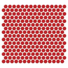 Daltile Retro Rounds Cherry Red RR0911PNYRDMS1P
