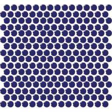 Daltile Retro Rounds Cobalt Circle RR1111PNYRDMS1P