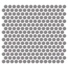 Daltile Retro Rounds Engine Gray Gray/Black RR1311PNYRDMS1P