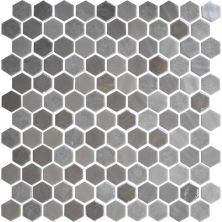 Daltile Uptown Glass Frost Moka Brown UP181HEXMS1P