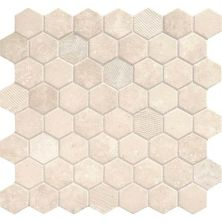 Daltile Vintage Hex Antique Beige VH0515HEXSWATCH