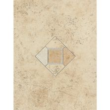 Daltile Brixton Sand Wall Accent with Insert 9″ x 12″ BX02912DECO1P