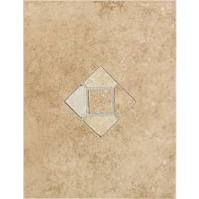 Daltile Brixton MushroomWall Accent with Insert 9″ x 12″ BX03912DECO1P