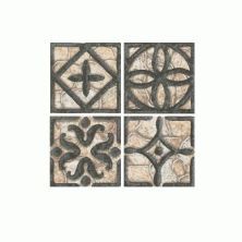 Daltile Fashion Accents Wrought Iron Beige Inserts 2″ x 2″ FA3122DOTS1P