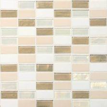 Daltile Coastal Keystones Coconut Beach 2 x 1 StraightJoint Mosaic CK8521PM1P