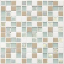 Daltile Coastal Keystones Trade Wind Blend 1 x 1 Mosaic CK8611PM1P