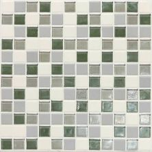 Daltile Coastal Keystones Caribbean Palm Blend 1 x 1 Mosaic CK8711PM1P