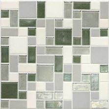 Daltile Coastal Keystones Caribbean Palm Block Random Mosaic CK87BLRANDPM1P