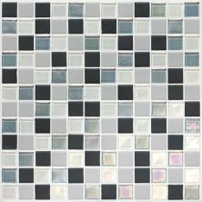 Daltile Coastal Keystones Tropical Thunder Blend 1 X 1 Mosaic Green CK8811PM1P