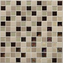 Daltile Coastal Keystones Sunset Cove Blend 1 x 1 Mosaic CK8911PM1P
