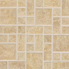 Daltile Continental Slate Persian Gold Random Block Mosaic Gold/Yellow CS54BLRANDMSC1P