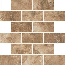 Daltile Esta Villa Cottage Brown 2 X 4 Mosaic Brown EV9924BJMS1P2