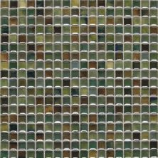 Daltile Fashion Accents Illumini Meadow 5/8 X 5/8 Mosaic Green F0105858MS1P