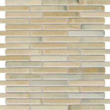 Daltile Fashion Accents Illumini Sand 5/8 x 3 Random Mosaic F013583MS1P