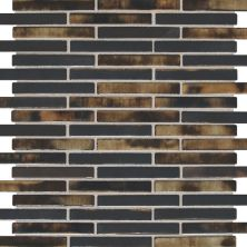 Daltile Fashion Accents Illumini Umber 5/8 X 3 Random Mosaic Brown F016583MS1P