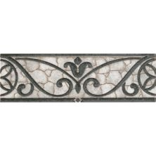 Daltile Fashion Accents Wrought Iron Grey 3 X 8 Accent Strip FA3238LIST1P