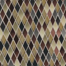 Daltile Fashion Accents Copper Blend 12 x 12 Sheet Harlequin Mosaic FA6311HARMS1P