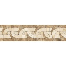 Daltile Fashion Accents Crossroads Tribal 3 X 12 Decorative Accent Beige/Taupe FA87312DECO1P