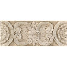 Daltile Fashion Accents Medallion Travertine 3 X 8 Accent Strip Beige/Taupe FA9238LIST1P
