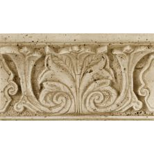 Daltile Fashion Accents Acanthus Travertine 4 X 8 Shelf Rail Beige/Taupe FA9948SR1P