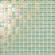 Daltile Glass Horizons Sea Glass Mosaic Blue GH023434PM1P
